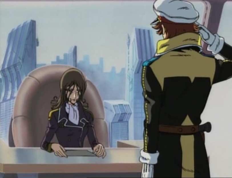 L'Union Terrienne et les humanoïdes acceptent de rendre à Warrius son vaisseau le Karyu pour arrêter Albator