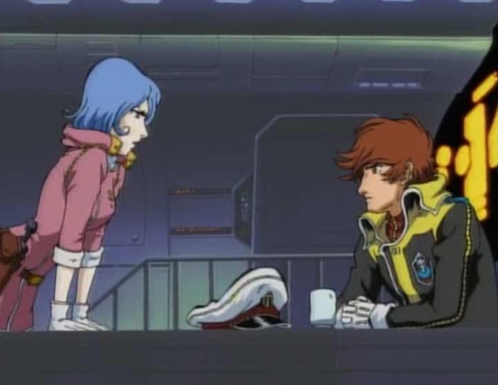 Marina tente de faire comprendre à Warrius que la situation peut dégénérer en mutinerie