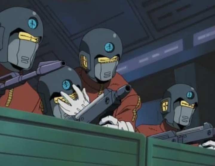 Marina arrive à convaincre les humanoïdes de cesser le feu