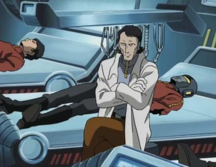 A l'infirmerie, le médecin est un humanoïde qui sait aussi soigner les humains