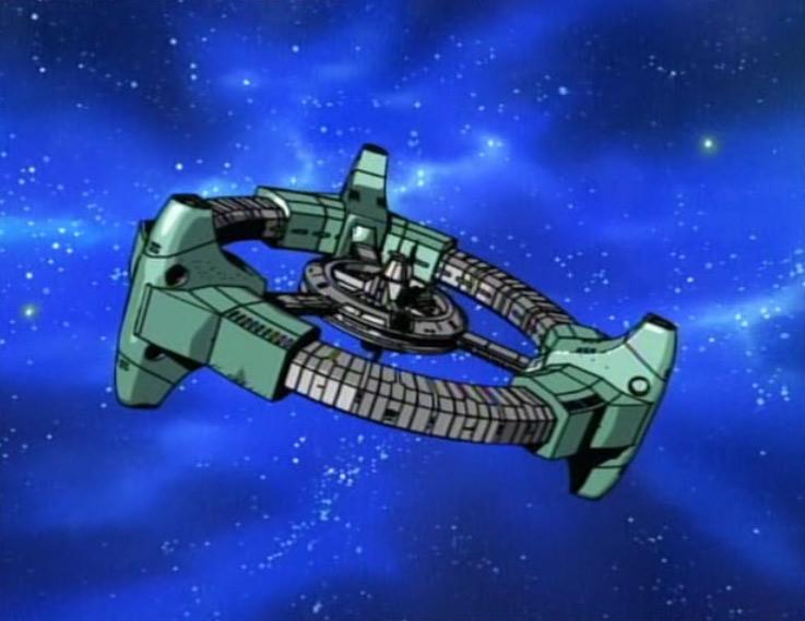 La station spatiale humanoïde est attaquée par des pirates