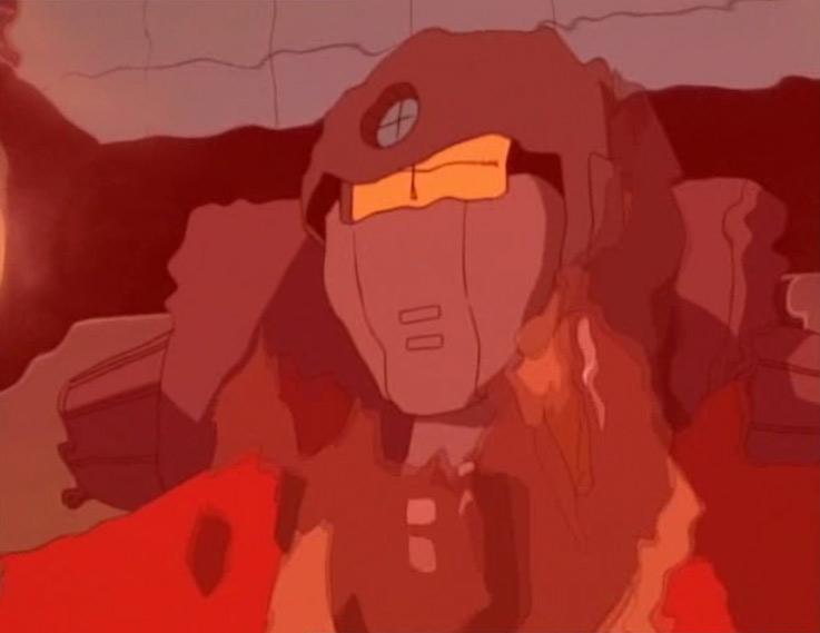 Le commandant Hunter était en réalité un humanoïdes déguisé en humain