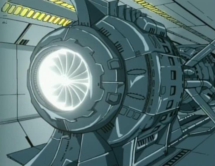 Le réacteur du Karyu fonctionne à l'Hélium 3