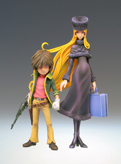 Figurine : Maetel et Tetsuro
