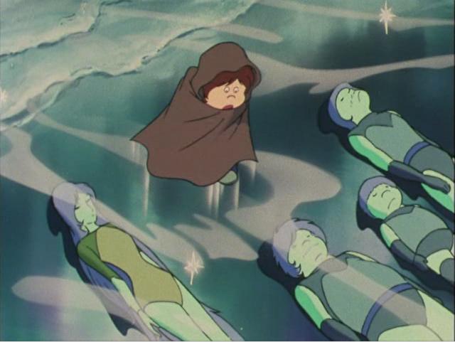 Maetel va transformer se voyage en rite initiatique pour Tetsuro pour lui apprendre à apprécier la valeur de son corps organique qu'il méprise tant.