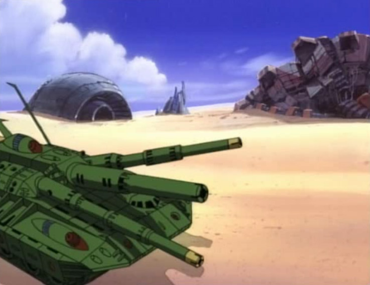 Le tank de Grenadier dispose d'une tourelle à trois canons
