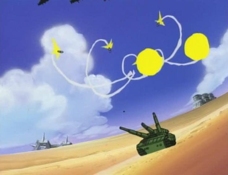 Le tank de Grenadier est détruit pendant le bonbardement