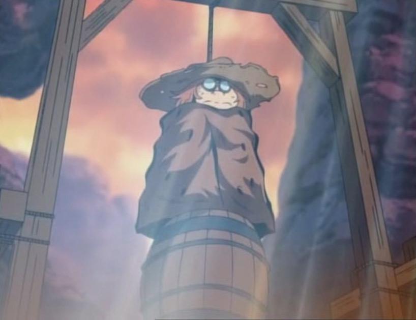 Les villageois veulent pendre Toshirô et toucher la prime qui est sur sa tête