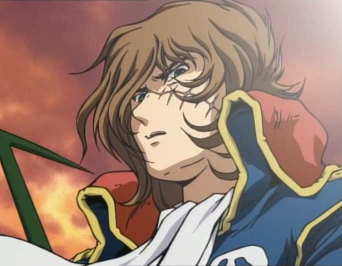 Albator n'apprécie pas qu'on s'en prenne à Toshirô