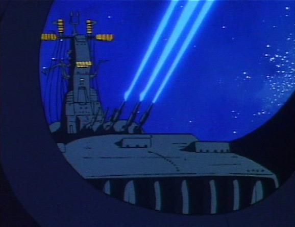 Dans ce deuxième combat, l'Ombre de la Mort prend le dessus sur l'Atlantis