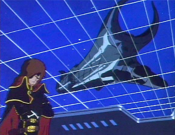 Albator est dérouté de devoir affronter son ancien vaisseau