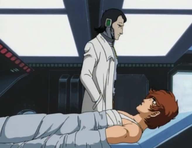 Warius se remet de ses brulures à l'infirmerie