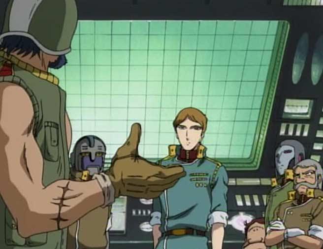 Ishikura expose ses doutes sur Marina aux autres membres de la passerelle
