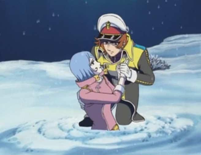 Warius vient secourir Marina et la convaincre de vivre