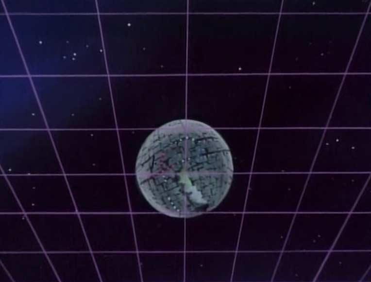 Dès que le Karyu est sorti du nuage de gaz, la planète Technologia apparaît sur les radars