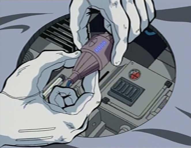 Ishikura reconnecte lui même l'Officier Navigateur