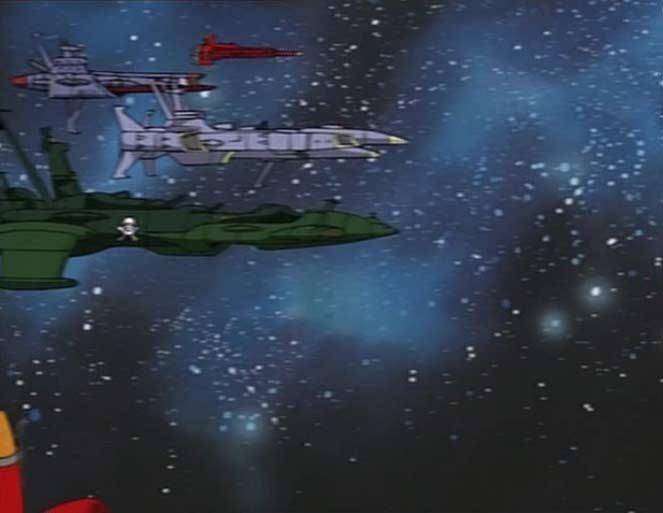 Une flotte e vaisseaux rebelles arrive