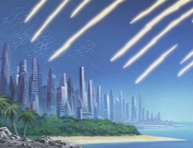 La population de Technologia est directement touchée par les tirs du Hell Castle