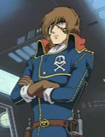 Albator prend le commandement des opérations