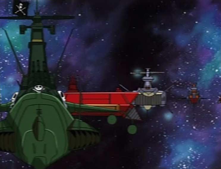 Tous les vaisseaux de la flotte synchronisent leur armement sur celui de l'Ombre de la Mort