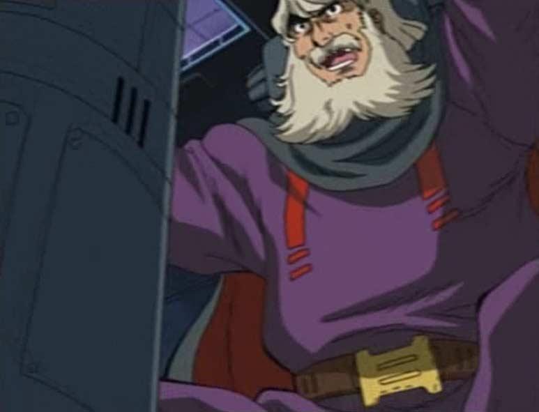 Le capitaine Lubia utilise son vaisseau comme bouclier pour le Karyu