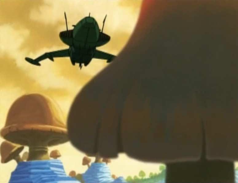 Toshirô part chercher seul un nouvel alliage pour fabriquer l'Arcadia. Il laisse Albator seul au laboratoire