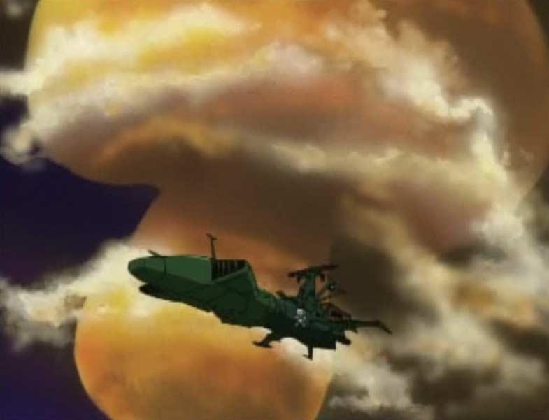 Albator part avec l'Ombre de la Mort pour régler ses comptes avec les pirates