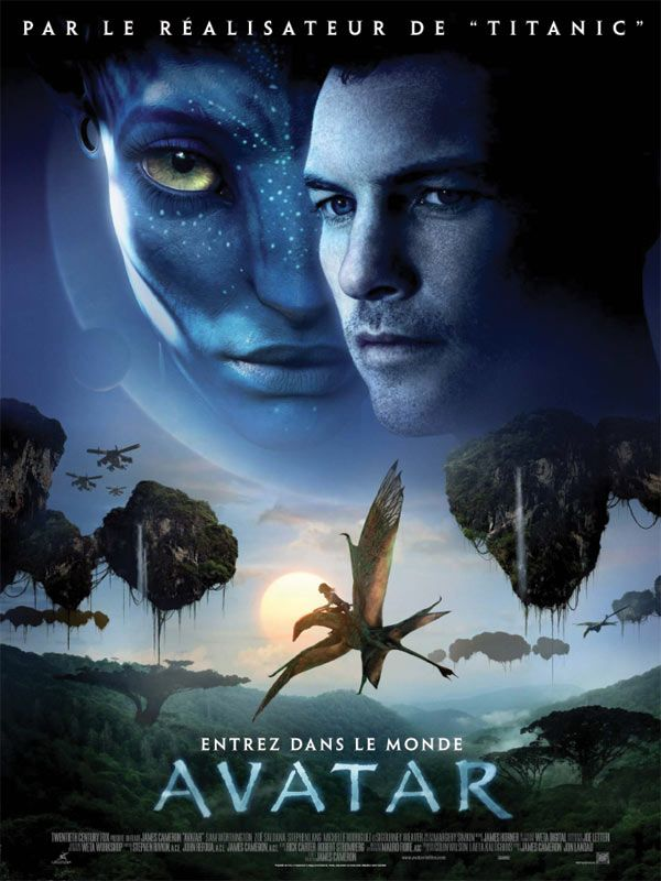 Affiche teaser d'Avatar de James Cameron