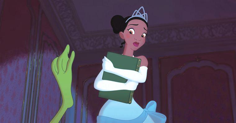 être déguisé en princesse ne fait pas de Tiana une princesse pour autant