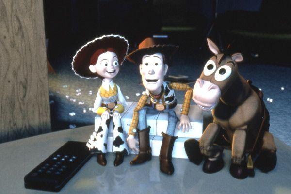 Woody est émerveillé de découvrir son univers