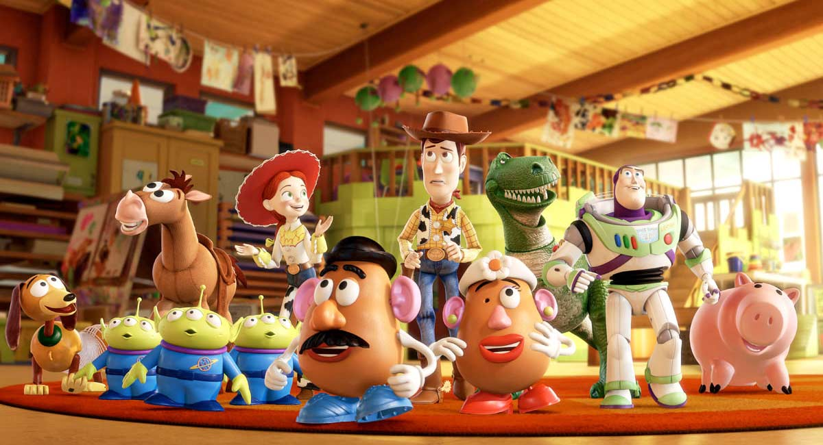 Woody, Buzz et les autres dbarquent au jardin d&#039;enfants (Toy Story 3 - Pixar)