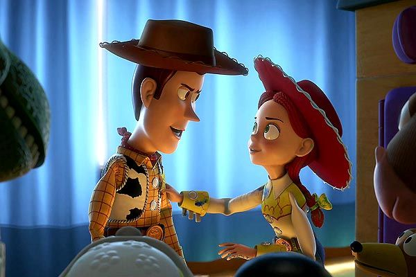 Woody n&#039;est pas prt  abandonner Andy (Toy Story 3 - Pixar)
