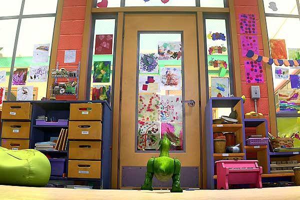 Le jardin d'enfants dans Toy Story 3 (Pixar)