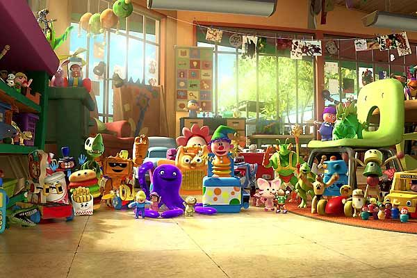 Le jardin d&#039;enfants dans Toy Story 3 (Pixar)