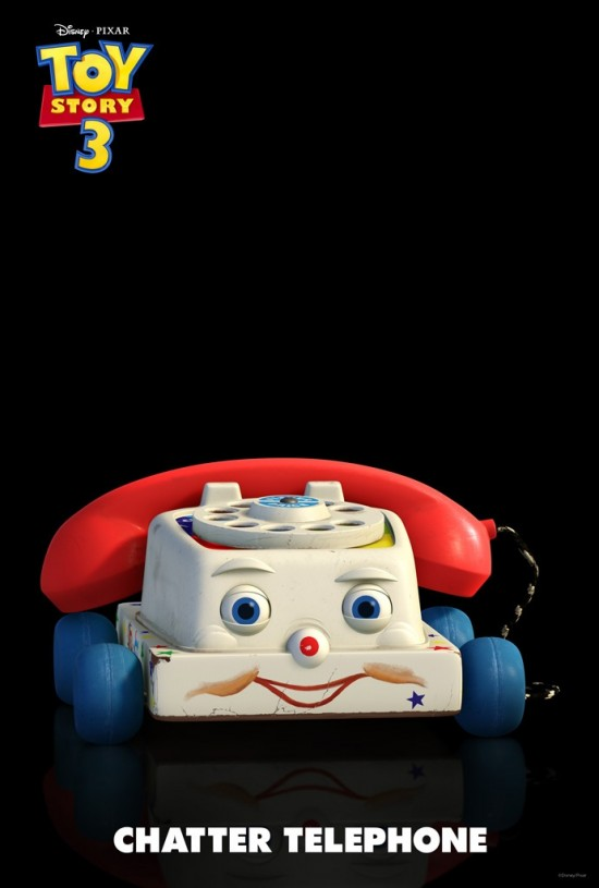 Chatter le tlphone (Toy Story 3 - Pixar)