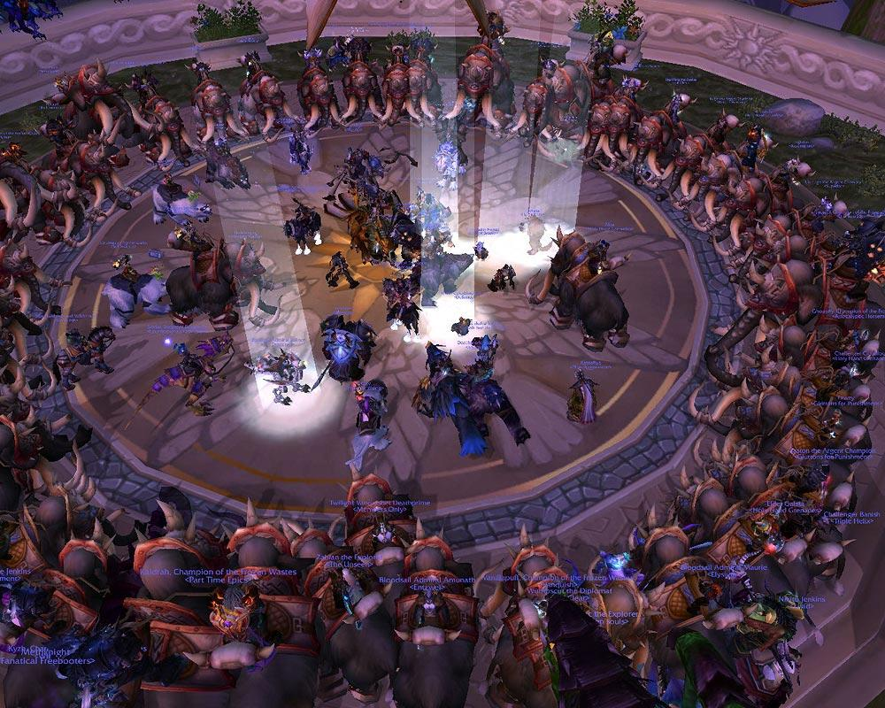 Screenshot of the day à Dalaran (world of warcraft)