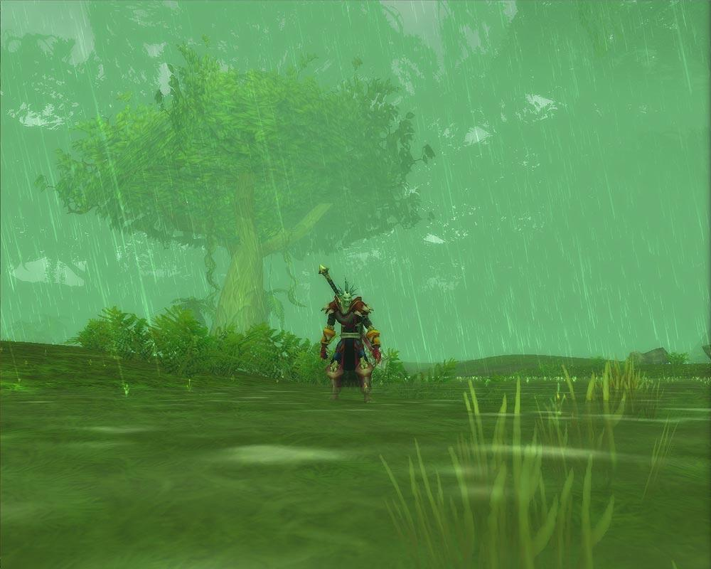 Screenshot of the day d'un troll à Un'goro (world of warcraft)