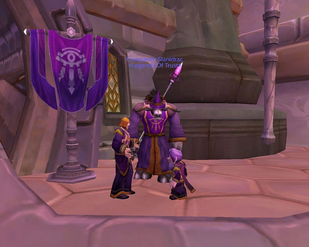 Screenshot of the day d&#039;une rencontre de membres du Kirin Tor (world of warcraft)