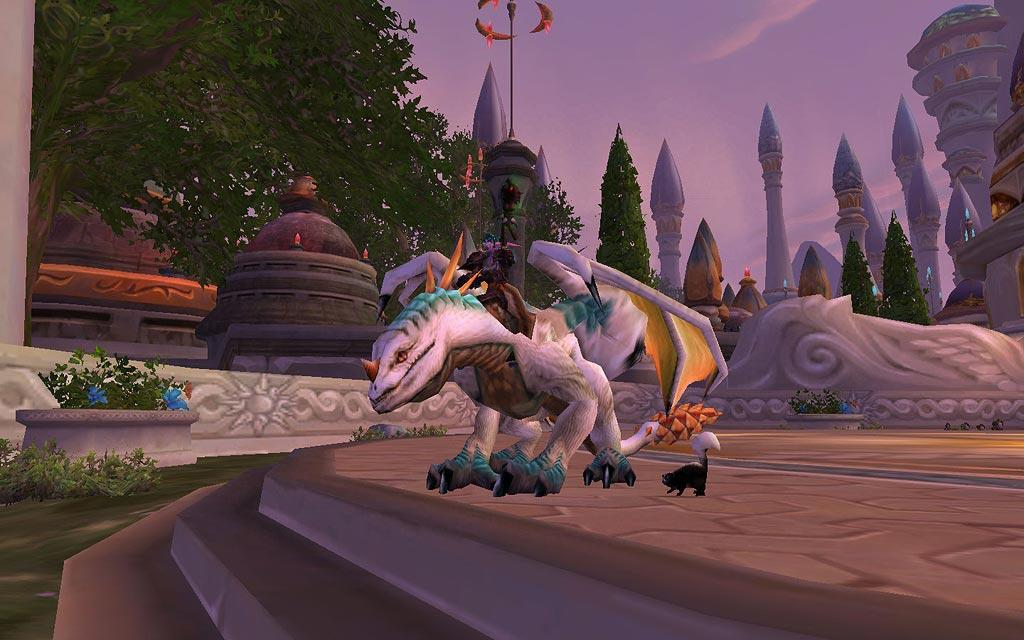 Screenshot of the day d'un drake à Dalaran (world of warcraft)