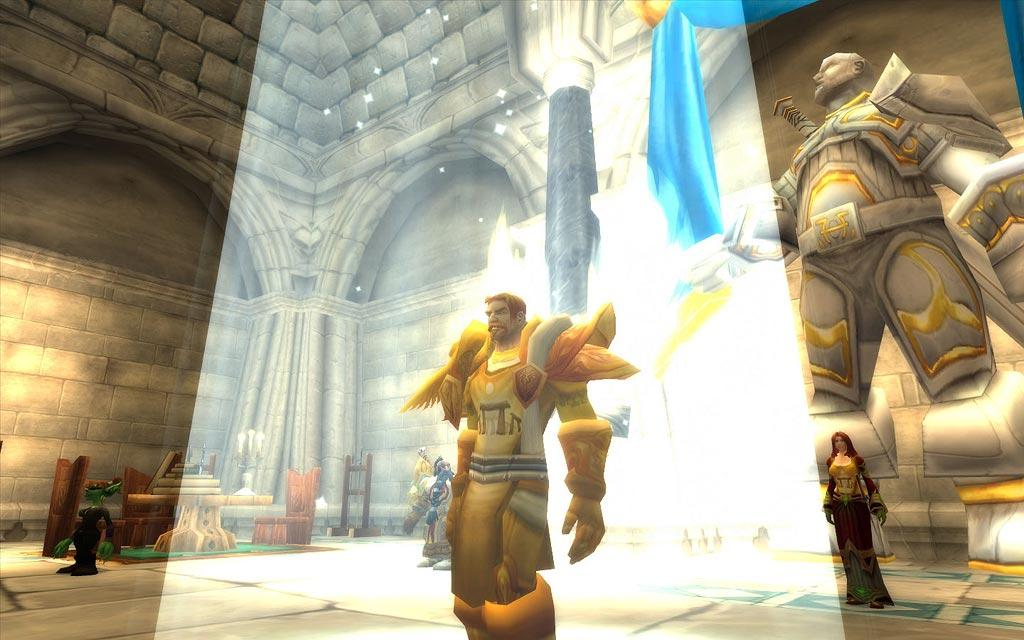 Screenshot of the day d&#039;un paladin en lumire (world of warcraft)