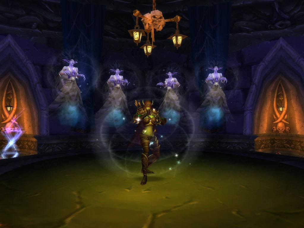 Screenshot of the day de la complainte des biens nés (world of warcraft)