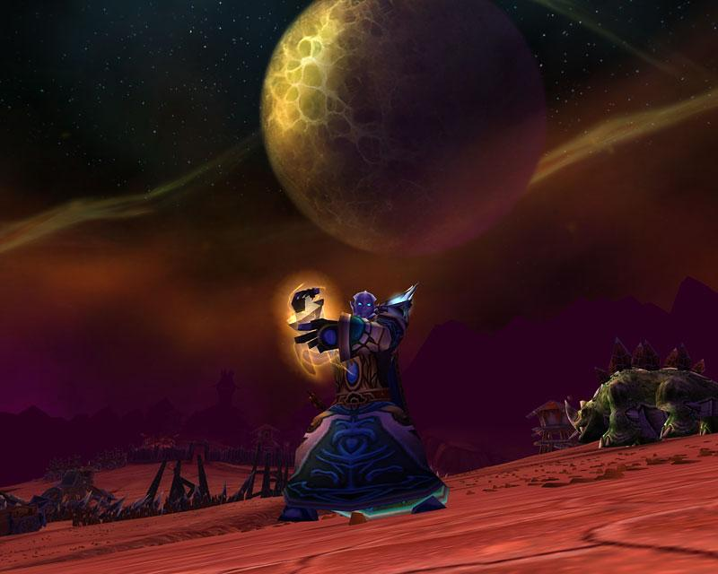 Capture de Burning Crusade / World of Warcraft (source : Screenshot du jour)