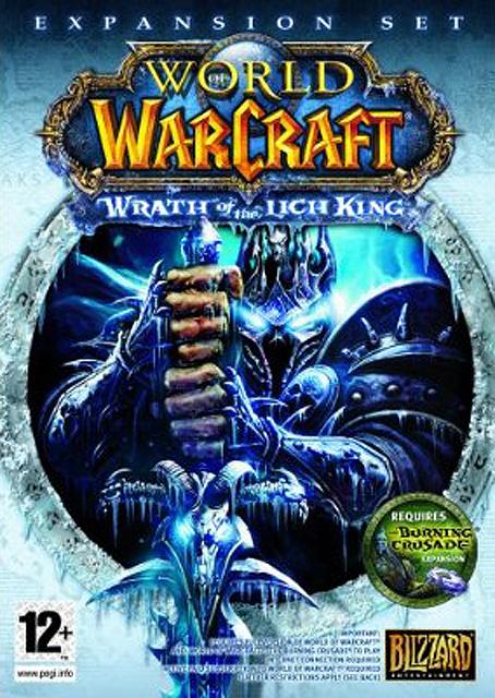 Couverture du jeu vidéo la colère du roi liche (Wrath of the Lich King)