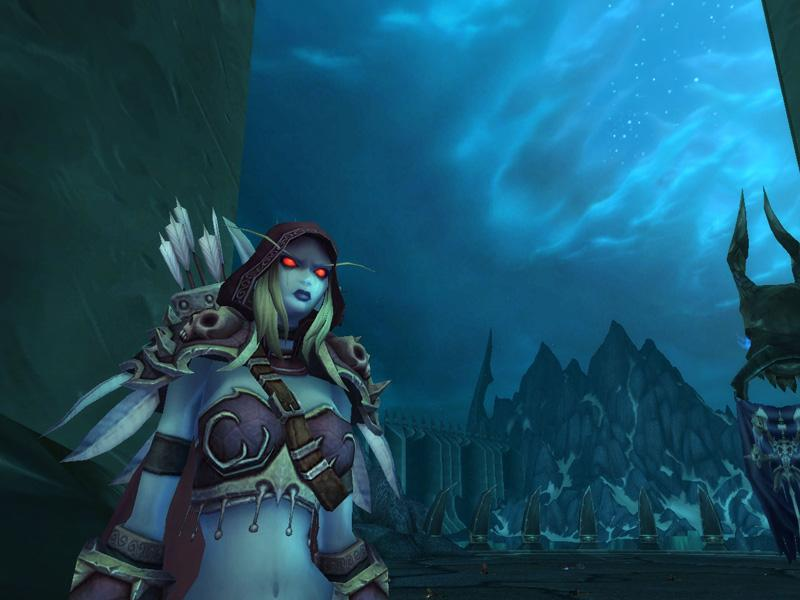Capture de Sylvanas Coursevent World of Warcraft (source : Screenshot du jour)