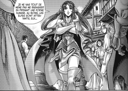 Tyrygosa visitant le moulin de Tarren sous sa forme d'elfes