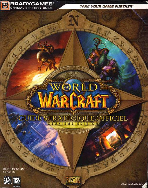 Guide Bradygames World of Warcraft