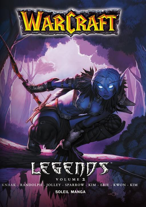 Couverture du tome 2 de Warcraft Legends