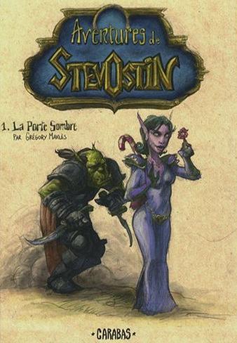 Couverture du tome 1 de Stevostin