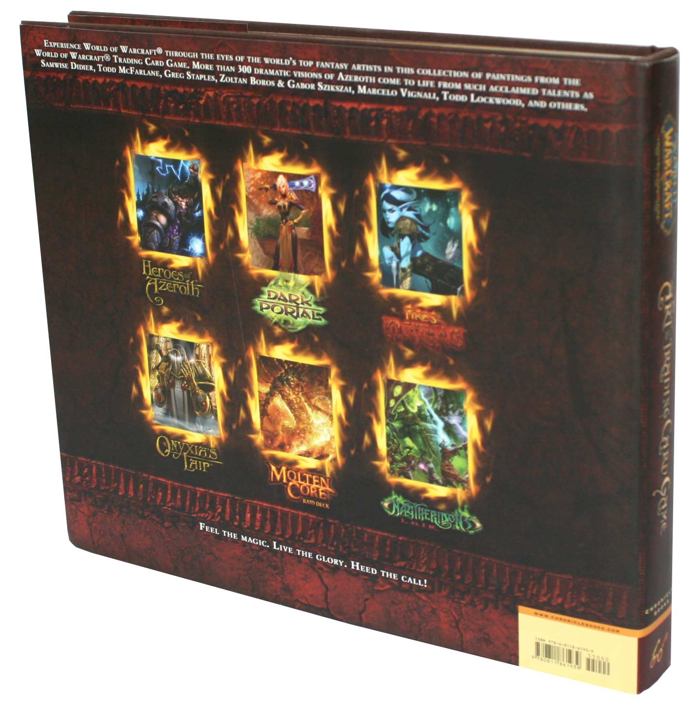 World of Warcraft : The Art of the Trading Card Game (Art book) - dos de couverture