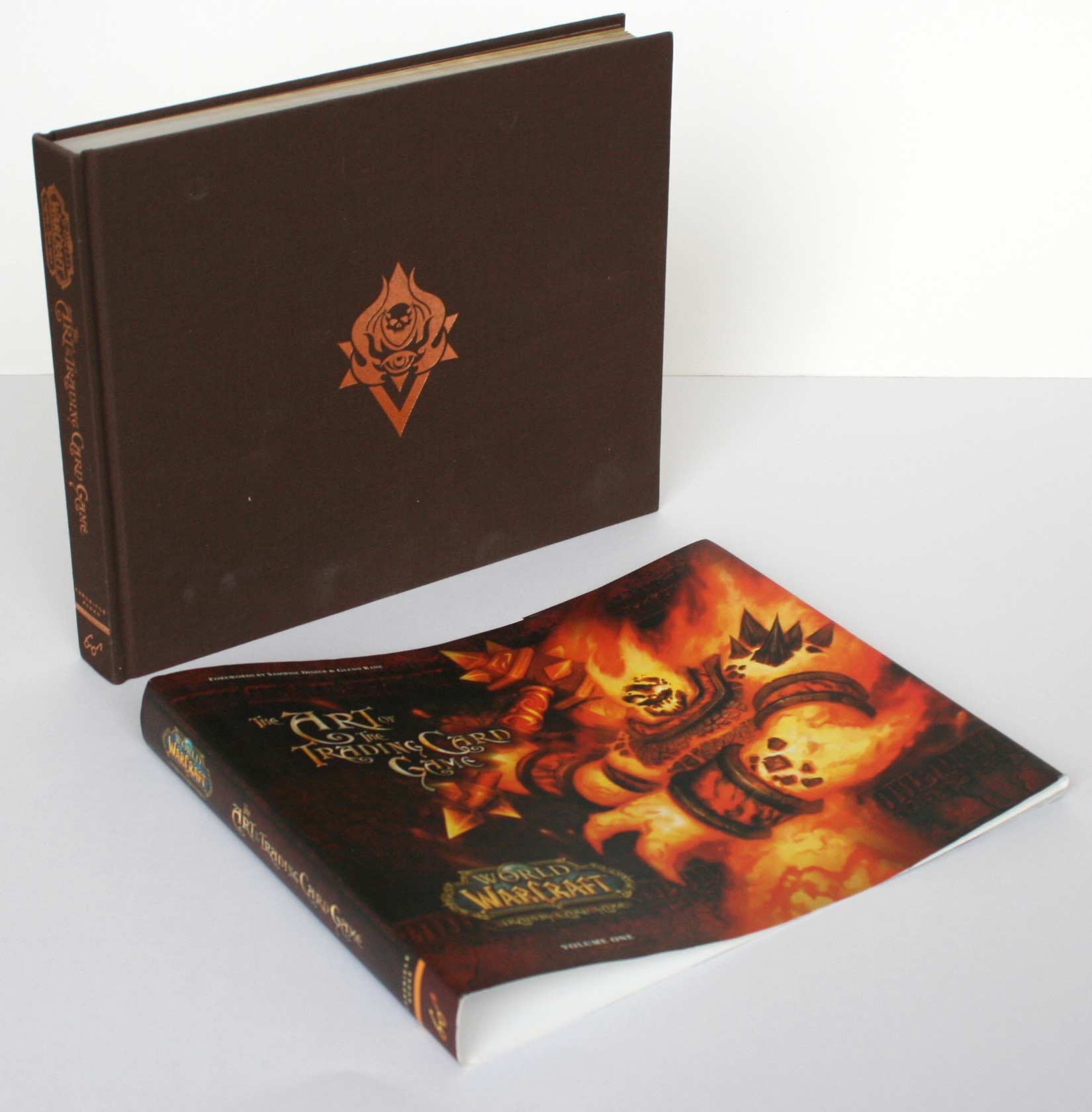 World of Warcraft : The Art of the Trading Card Game (Art book) - couverture de protection enlevée